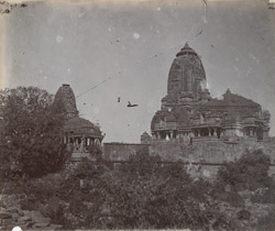 General view from the side of the Kumbha Shyama Temple, Chittaurgarh [Chitorgarh] 10031608